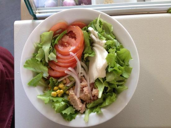 Terzo, إيطاليا: Esempio di insalatona