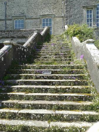 Kendal, UK: Castle steps