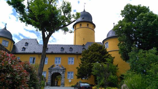 Hotel Schloss Montabaur: Inner Courtyard