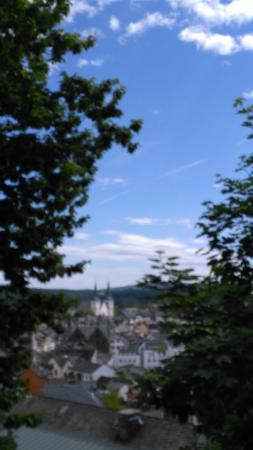 Schloss Montabaur: View of the town