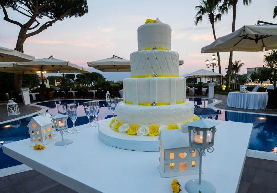 Boscotrecase, Olaszország: Wedding cake