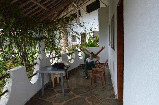 Jambo House Resort: veranda