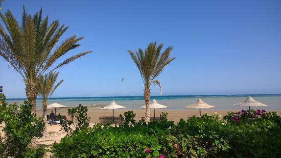 Sweet Home Egypt: Blick auf den Strand