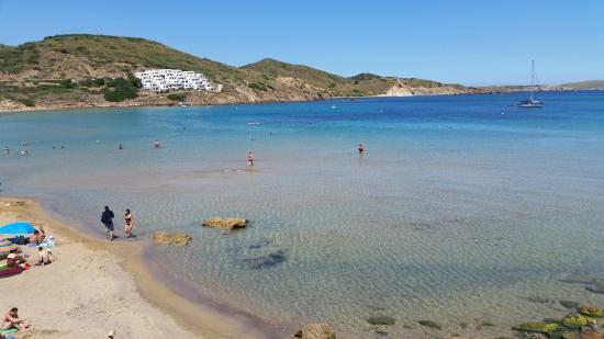 TRH Tirant Playa: This is the beach a sort walk away