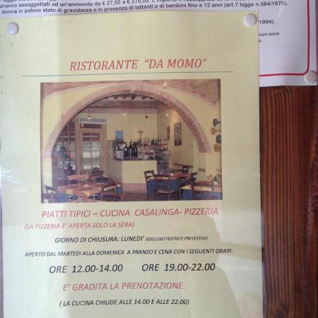 Sassofortino, Włochy: MOMO locandina