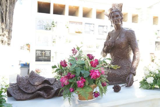 Chipiona, Spain: Mausoleo de Rocio Jurado 1