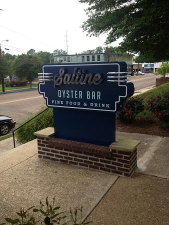 Jackson, Mississippi: 1. Oyster bar w/ oven 2. Open dining room 3. Sign out front on Duling 4. Sign out back