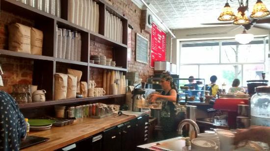 Photo of Restaurant Sit&Wonder at 688 Washington Ave, Brooklyn, NY 11238, United States