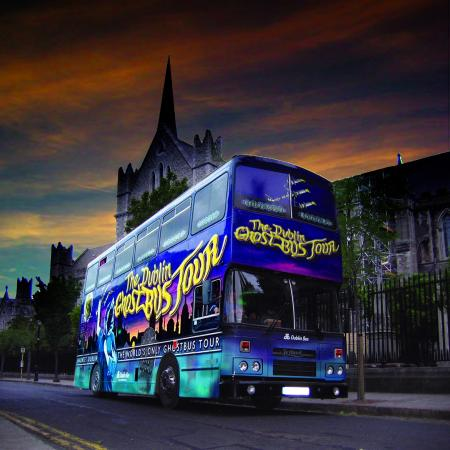 DoDublin: The GhostBus at St.Patrick's Cathedral