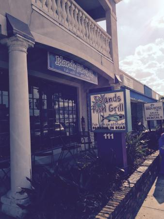 Islands Fish Grill: New Sign