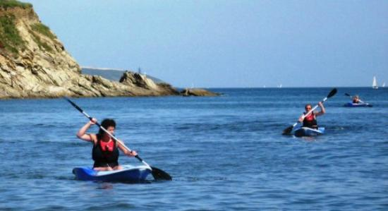 Aberfal Outdoor Pursuits : Kayaking in the Helford, Falmouth