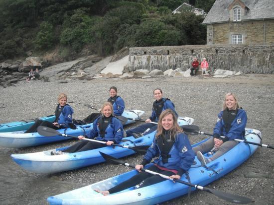 Aberfal Outdoor Pursuits : Sit on kayaking