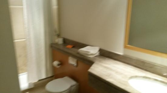 Central Athens Hotel: Bathroom