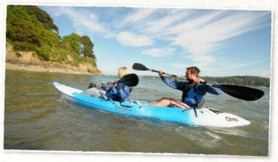 Aberfal Outdoor Pursuits : Falmouth kayaking