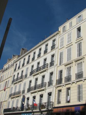 Best Western Hotel Du Mucem: Façade de l'hôtel du Mucem