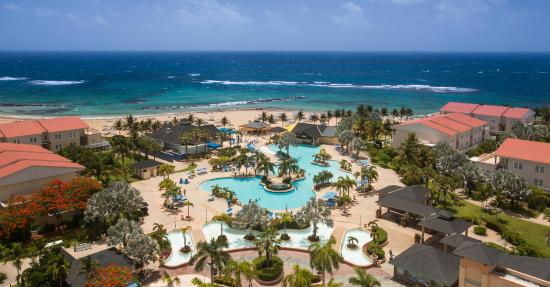 Frigate Bay, Saint Kitts: Aerial St. Kitts Marriott