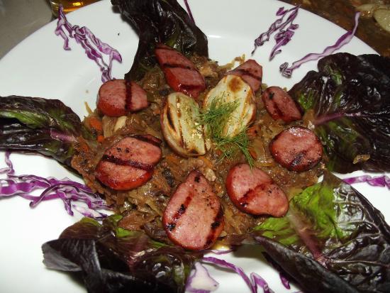 Amadeus Cafe & Restaurant: Bigos