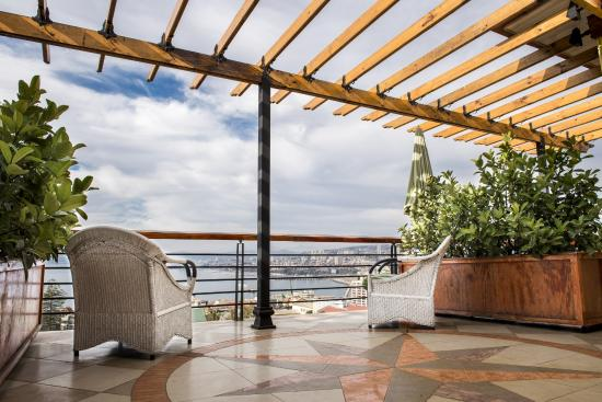 Hotel Boutique Acontraluz: Terraza común