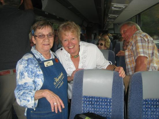 Vermont Country Store: Hazel says Hello on a Bus