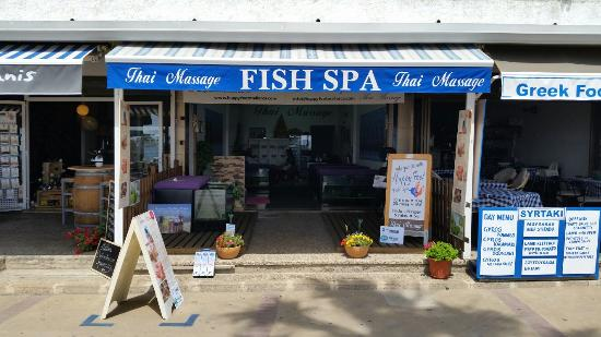 Thai Massage and Fish Spa in Cala Bona