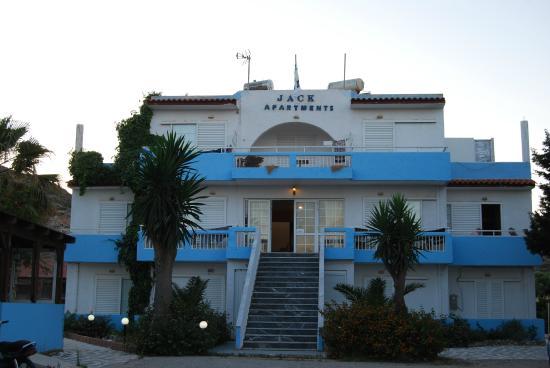 Jack's Apartments: Ξενοδοχείο και εγκαταστάσεις
