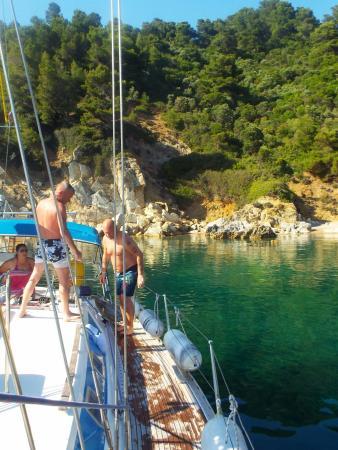 Lena II & Voula London - Charter Sailing Skiathos