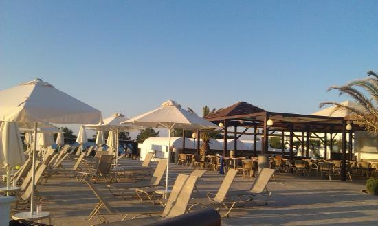 Louis Creta Princess Beach Hotel & Waterpark: Poolarea, Snackbar