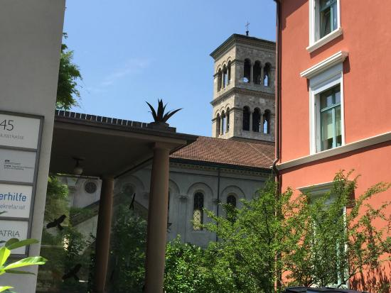 Liebfrauenkirche: From Clausiusstrasse, just above