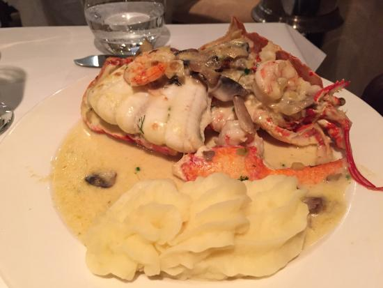 The Lobster Pot : The chief special