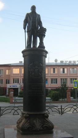 Nikolai Chukmaldin Statue