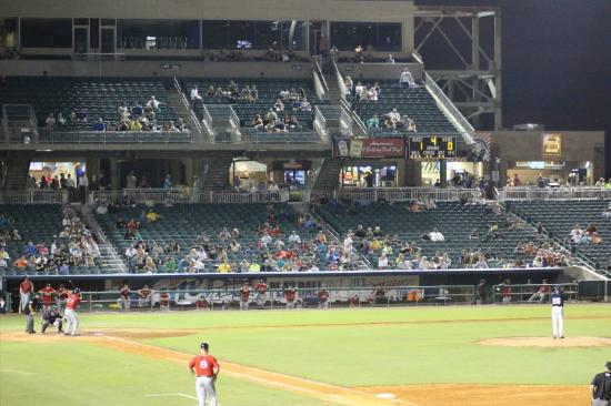 Metairie, LA: Stadium from Right Field