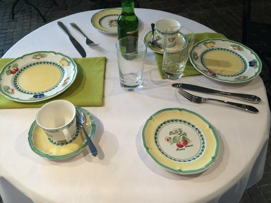 Erlebniszentrum Villeroy&Boch: Frühstück