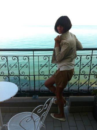 Hotel Savoia: ...terrazza dependance!
