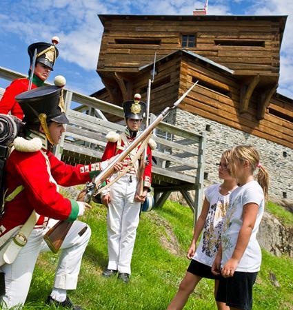 Edmundston, Canada: Fortin du Petit-Sault Blockhouse