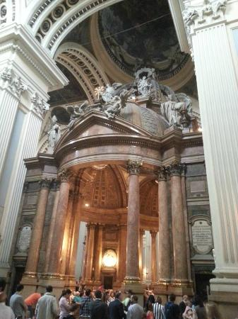Interior - Picture of Basilica de Nuestra Senora del Pilar, Zaragoza - TripAd...
