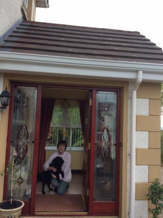 Dungiven, UK: Your host Margaret