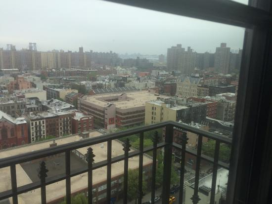 The Ludlow New York City: View from our room