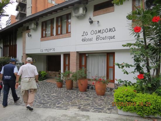 La Campana Hotel Boutique : Hotel facade