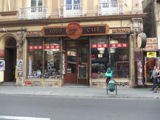 Foto Café: Frente del local