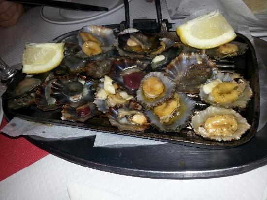 Restaurante Nacional: Lapas de alto nível