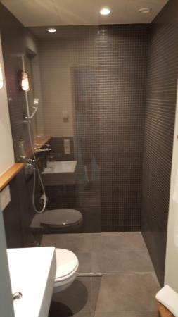 Badezimmer Mit Walk In Dusche Leider Auch Mit Lauter Luftung