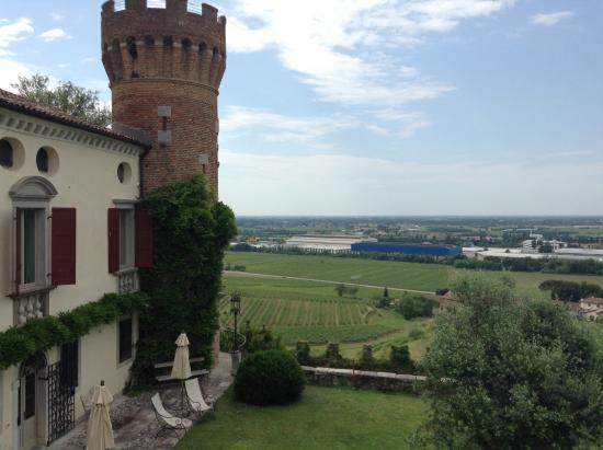 Castello di Buttrio: Вид из окна номера