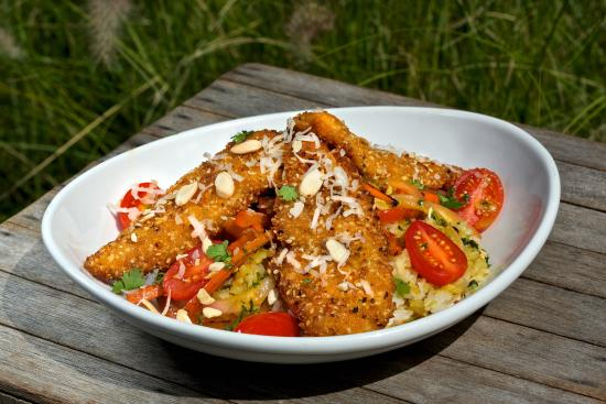 Crunchy chicken thai bowl picture of salt life food shack saint salt life food shack crunchy chicken thai bowl forumfinder Image collections