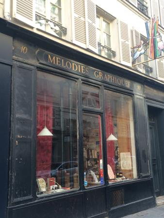 Photo of Tourist Attraction Melodies Graphiques at 10 Rue Pont Louis Philippe, Paris 75004, France