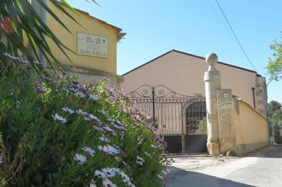 Villa Rosaria: ingresso