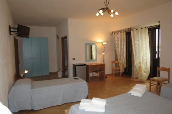 Villa Rosaria: camera azzurra