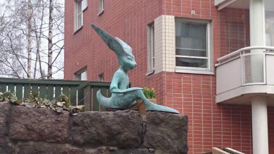 Kotka Sculpture Promenade: Kim Simonsson: Идол, 2010