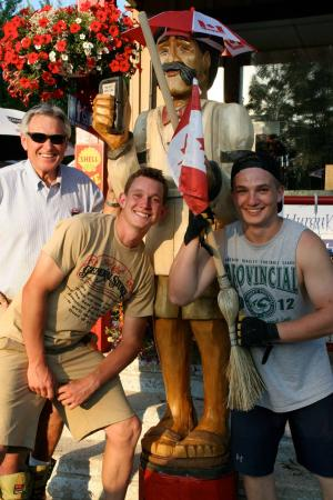 """Port Albert, Canada : A summer photo-op with """"Pete The Shopkeeper"""""""