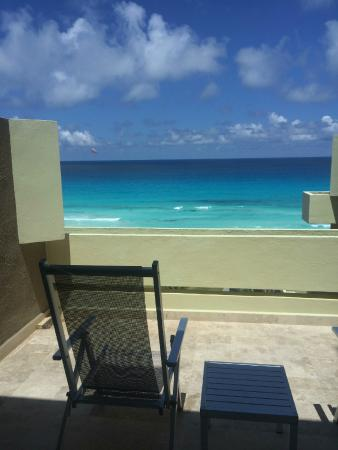 View From Junior Ocean View Suite 5th Floor Picture Of Paradisus