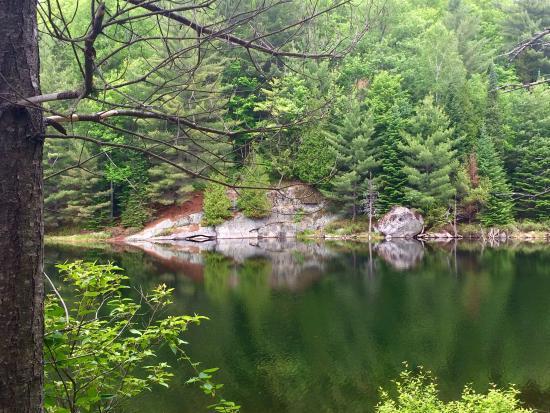 Kenauk Nature: Lake all to ourselves